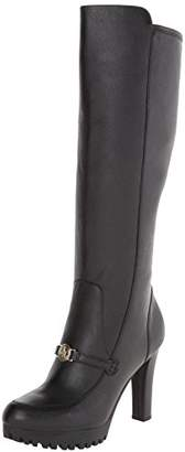 Armani Jeans Women's Tall Leather Boot