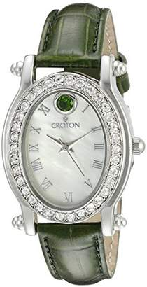 Croton Women's CN207537GRMP Balliamo May Birthstone Analog Display Quartz Watch