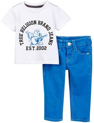 True Religion Buddha Tee & Geno Jean Set (Toddler Boys) $79 thestylecure.com