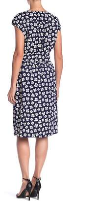 Anne Klein Floral Print Dress