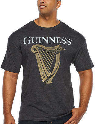 Guinness Novelty Licensed Harp Short Sleeve Graphic T-Shirt-Big and Tall
