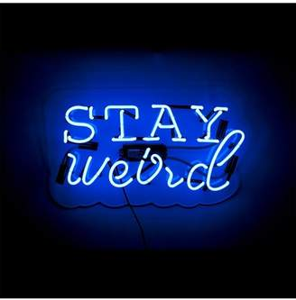 Oliver Gal Gallery Stay Weird Neon Sign