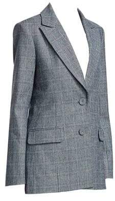 Erdem Daley Glen Check Jacket