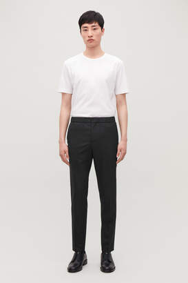 Cos SLIM DRAWSTRING TROUSERS