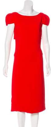 Antonio Berardi Short Sleeve Midi Dress