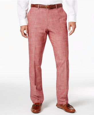 Tasso Elba Men's Chambray Pants, Only at Macy's $70 thestylecure.com