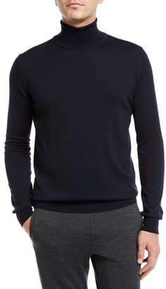 Brioni Men's Wool Turtleneck Pullover Sweater