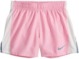 Nike Girls 7-16 Dri-FIT Black Running Shorts