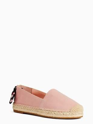 Kate Spade Grayson Espadrille Flats, White - Size 5