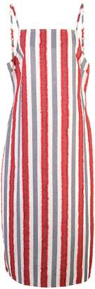 Onia striped mid-length dress
