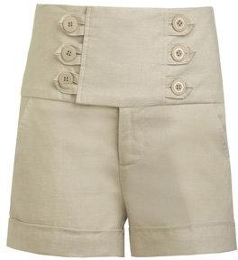 Linen Cuffed Sailor Short