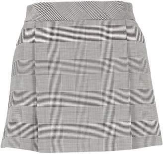 Tommy Hilfiger Mini Pied De Poule Skirt