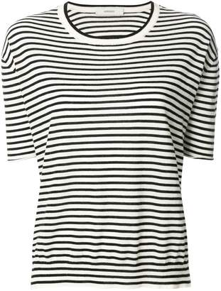 Humanoid cashmere striped crew neck top
