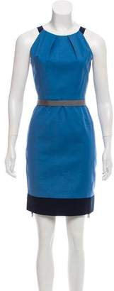 T Tahari Sleeveless Knee-Length Dress