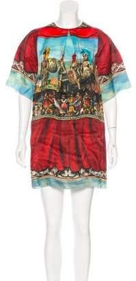 Dolce & Gabbana Sicilian Print Shift Dress