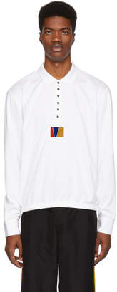 Pyer Moss Reebok by White Long Sleeve Polo