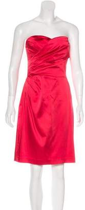 Calvin Klein Strapless Knee-Length Dress