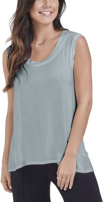 Fruit of the Loom Seek No Further Women's Scoop Neck Shell Tank Top