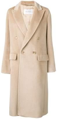 Max Mara straight-fit coat