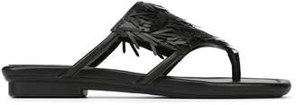 Donald J Pliner KYA, Embellished Nappa Leather Sandal