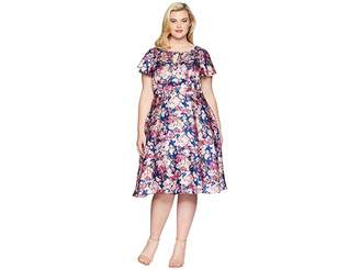 Unique Vintage Plus Size Formosa Dress
