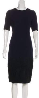 Andrew Gn Wool Midi Dress