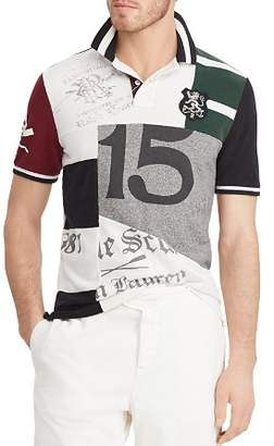 Polo Ralph Lauren Polo Classic Fit Patchwork Polo Shirt