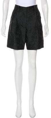 Marc Jacobs Brocade Knee-Length Shorts