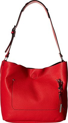 Kenneth Cole Reaction East River Bucket Bag $99 thestylecure.com