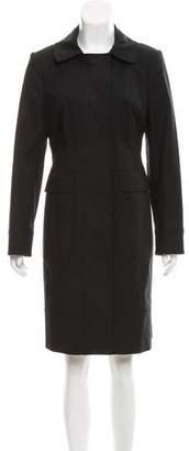 Magaschoni Long Sleeve Knee-Length Coat w/ Tags