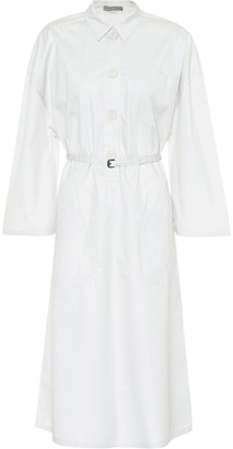 Bottega Veneta Cotton-blend shirt dress