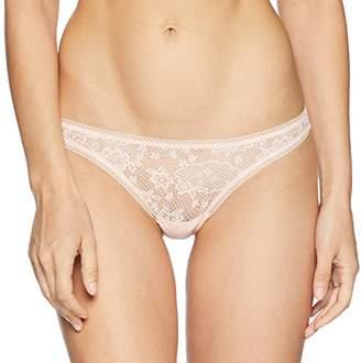 OnGossamer Women's Racy Lace Hip G Thong Panty