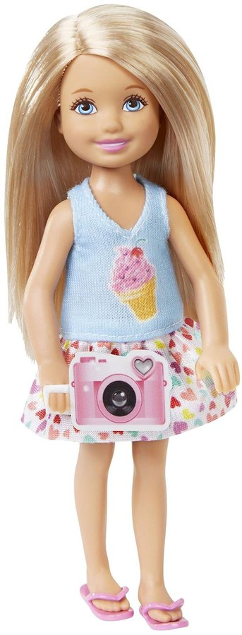 Barbie Great Puppy Adventure Chelsea Doll with Camera