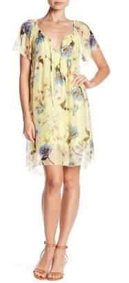 Luma Short Sleeves Floral Dress