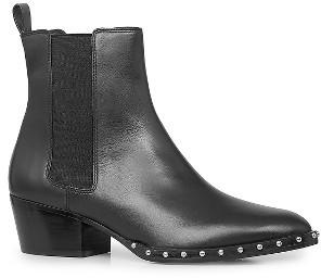 Women's Allsaints Ellis Studded Chelsea Boot $348 thestylecure.com