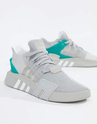 size 40 5c882 bb10c adidas EQT Bask ADV Trainers In Grey B37514
