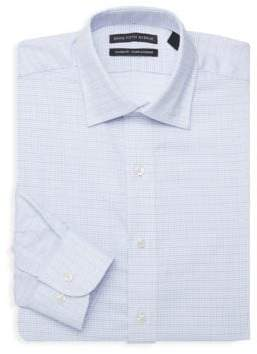 Saks Fifth Avenue Boxed Classic-Fit Dotted Dress Shirt