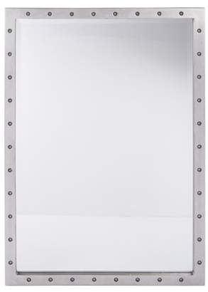OSP Designs Reid Beveled Mirror with Silver Finish