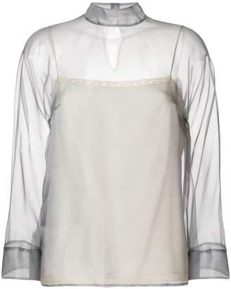 Prada sheer blouse