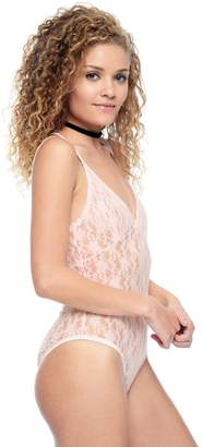 Juicy Couture Strappy Lace Bodysuit