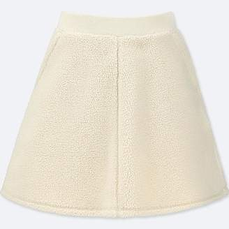 Uniqlo Girl's Fleece Flare Skirt