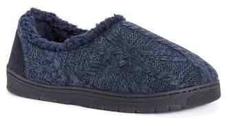 Muk Luks John Faux Fur Lined Slipper