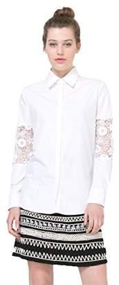 Desigual Women's Laurita Woven Long Sleeve Shirt