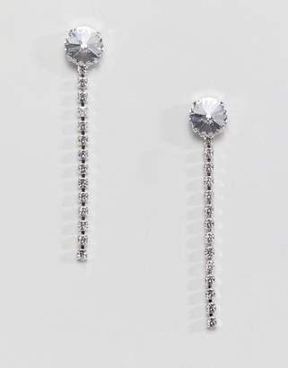 Swarovski Krystal London crystal longline drop earrings