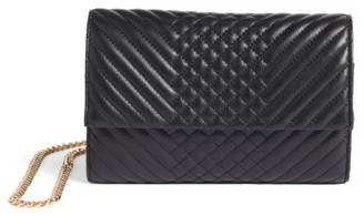 Women's Vince Camuto Fayna Foldover Clutch - Black $148 thestylecure.com