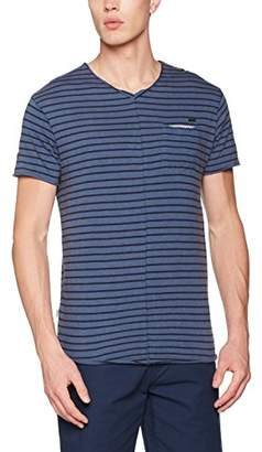 Khujo Men's Tanjore Striped Jersey T-Shirt,XL