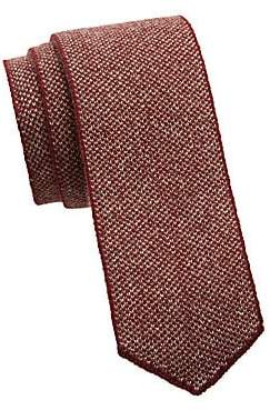 Saks Fifth Avenue Two-Tone Cashmere Knit Tie