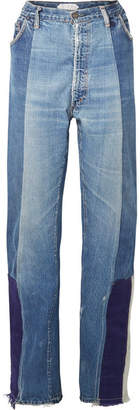 TRE - Selena Patchwork Boyfriend Jeans - Light denim