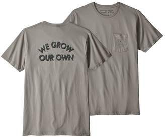 Patagonia Men's Grow Our Own Organic Cotton Pocket T-Shirt