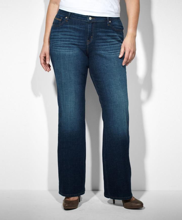 Levi's 580™ Defined Waist Boot Cut Jeans (Plus)